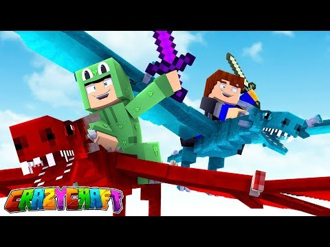 CRAZY CRAFT - FLYING OUR NEW DRAGONS! *SUPER FAST*