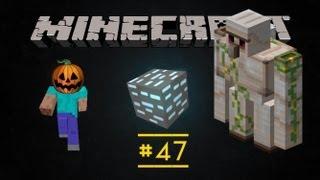 Похождения в Minecraft - Железный голем, светящаяся пыль и лампа