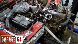 2 Двигателя Под Капот,  2,7 Литра, 8 Цилиндров В Ряд