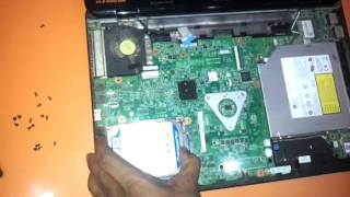 how to replace the harddrive dvdwriter keyboard in dell inspiron 15r 14r n5010 n5110 n4010 n4110