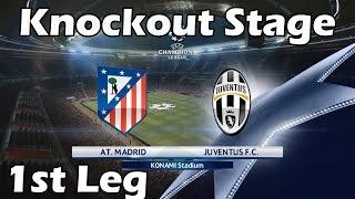 Video PES 2016 Champions League with Juventus   #7 Atletico Madrid vs Juventus download MP3, 3GP, MP4, WEBM, AVI, FLV Juli 2018