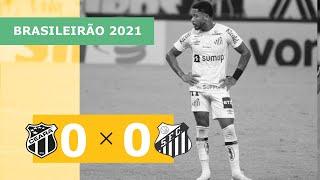 Сеара  0-0  Сантос видео