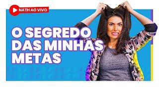 PALESTRA SOBRE METAS COM DINHEIRO! (Nath Ao Vivo!)