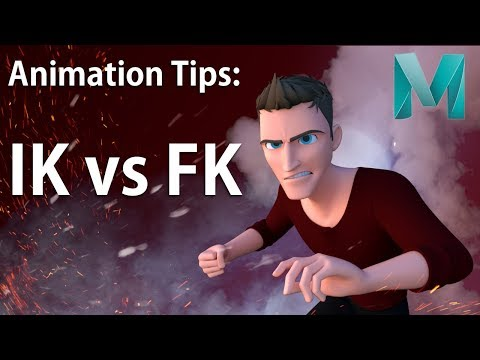 Animating with IK and FK