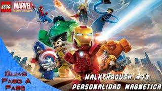 Walkthrough Lego Marvel Super Heroes - Parte 13: Personalidad Magnética