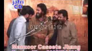 Zakir ijaz Hussain  jhandvi-yadgar  majlis 8 mar 2013 at shah shamas Multan