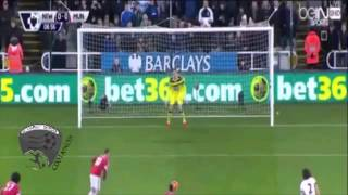 أهداف مباراة : مانشستر يونايتد 3-3 نيوكاسل