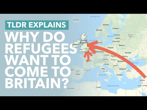 Why Do Migrants Want To Come To The UK? The Appeal Of Britain To Refugees Explained - TLDR News