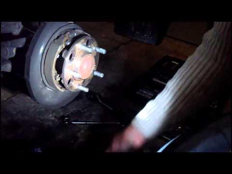 Hyundai I30cw Bremsscheibenwechsel Hinten Bremsbacken