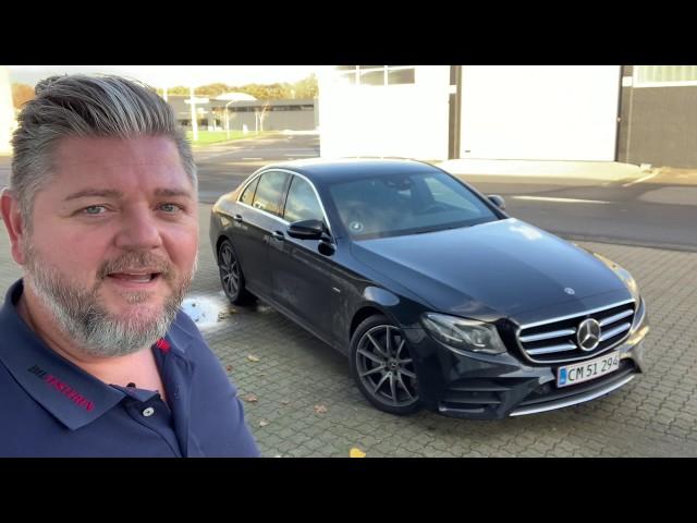 Mercedes-Benz E 200 sedan (test)