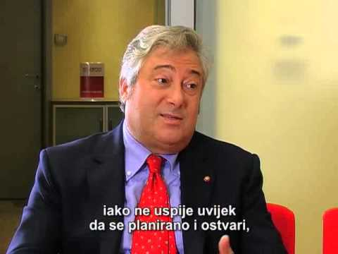 Giulio Moreno, head of EBRD Montenegro, Business exclusive, Atlas TV