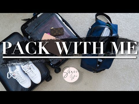 PACK WITH ME CARRY ON LUGGAGE ONLY