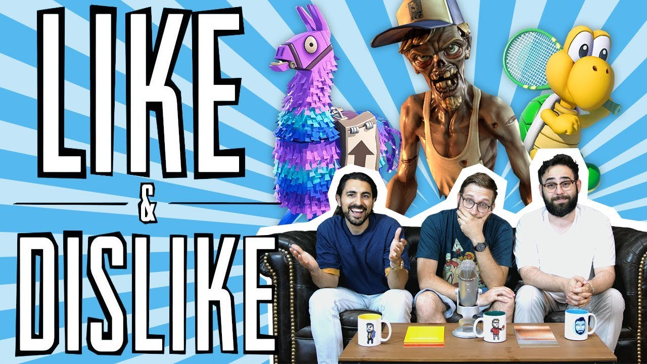 LIKE & DISLIKE: Fortnite, Resident Evil 2, Crash Bandicoot, Dead Island Survivors...