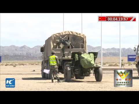 International Army Games 2017: Gunsmith Master competition in Xinjiang, China