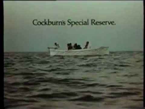 Cockburns 'Special Reserve Port' TV ad