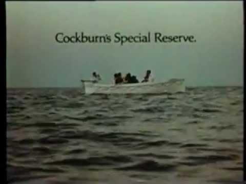 Cockburns 'Special Reserve Port' TV ad