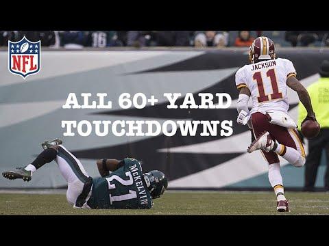 All 24 DeSean Jackson 60+ YARD TDs | **NFL RECORD** ᴴᴰ