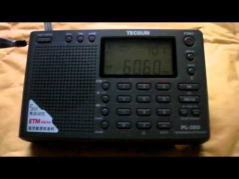 Radio Habana Cuba received with Tecsun PL-380 in the Netherlands