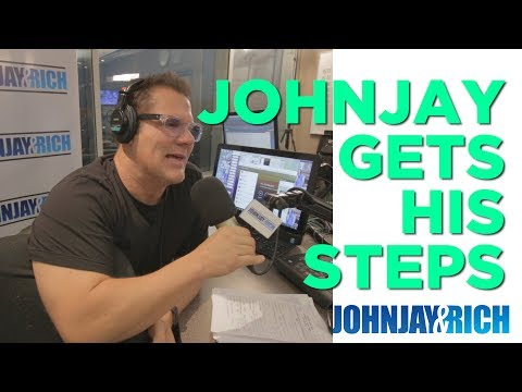 In-Studio Videos - Johnjay is Obsessed With His FitBit...AGAIN!