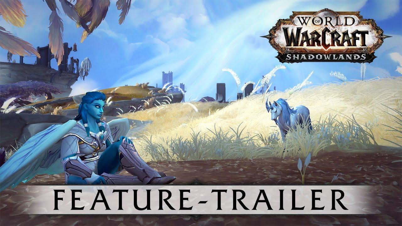 Übersicht zu World of Warcraft: Shadowlands thumbnail