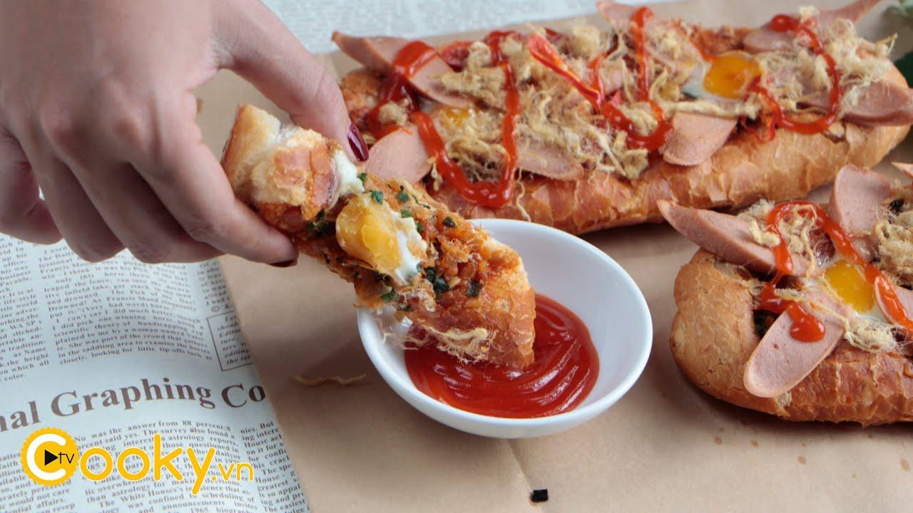 Bánh mì nướng muối ớt giòn rụm, món ăn vặt bắt kịp xu hướng – Cooky TV