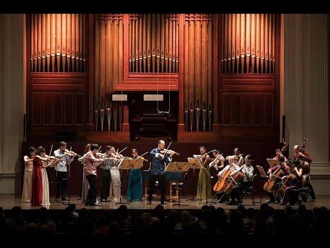 Vivaldi / Piazzolla - Four Seasons | Igor Yuzefovich, violin | Singapore Symphony Orchestra - PART 1