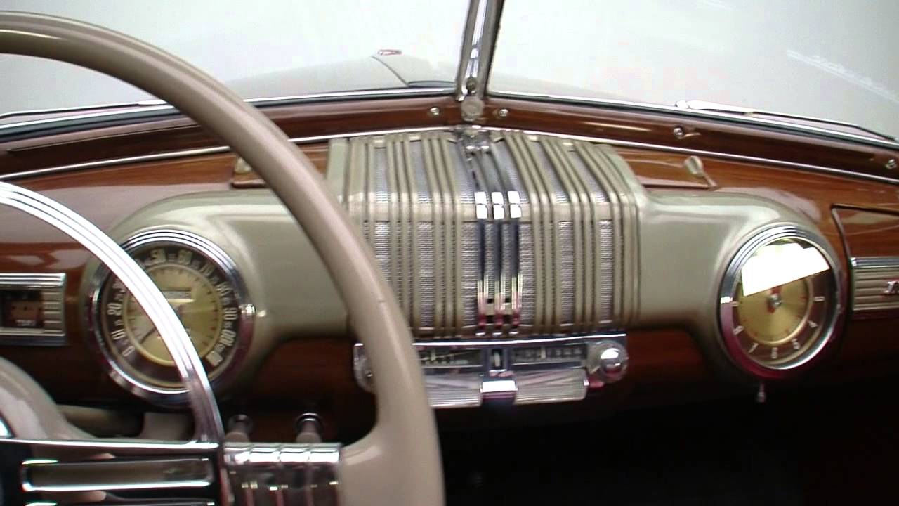135096 1946 Mercury Convertible Youtube 1941 Lincoln Continental Interior