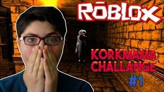 KORKMAMA CHALLANGE #1 - [ROBLOX SCP - 096]