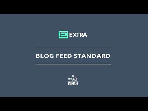 Extra Blog Feed Standard Module