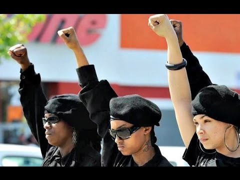 NEW BLACK PANTHERS HAVE SOLUTION TO WHITE RACISM. CREATE A BLACK NATION BASED ON SEGREGATION.