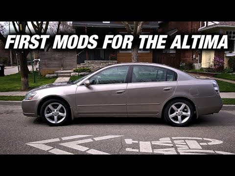 First Mods For The Altima - Intake and Block Off Plate