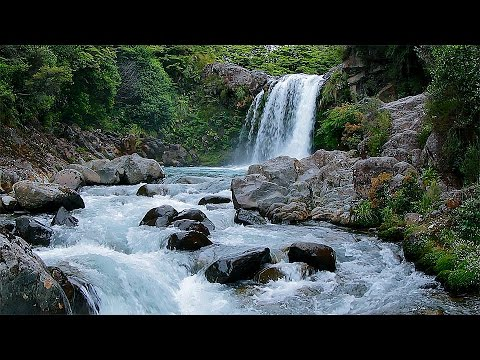 Entspannungs - Wasserfall, HD, Naturgeräusche