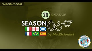 2006-07 Season Throwback Database for FM20 by MadScientist