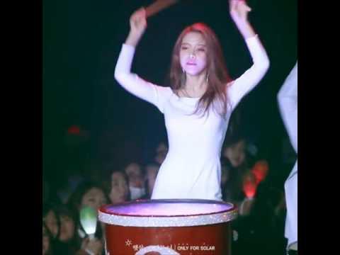 MAMAMOO Solar's Fantastic Drum Performance