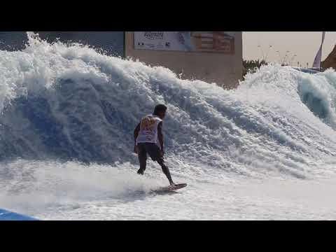 Worlds Best FlowRider Flow Barrel Championships at Yas Waterworld Abu Dhabi Dubai UAE