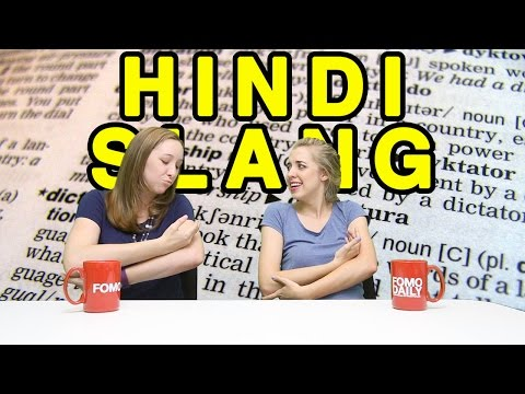 Essential Vocab: Hindi Slang