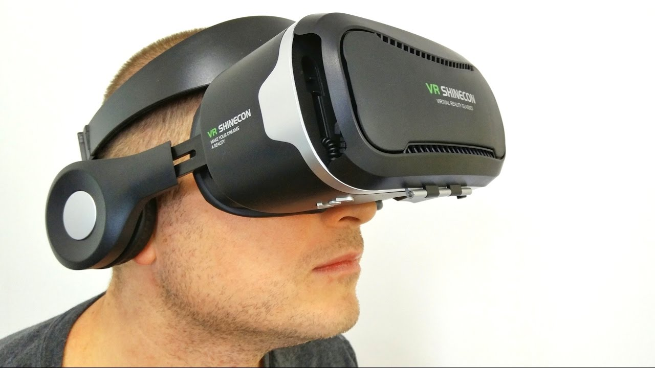 05ab3317c176 VR Shinecon 4th Gen Virtual Reality Glasses REVIEW - YouTube