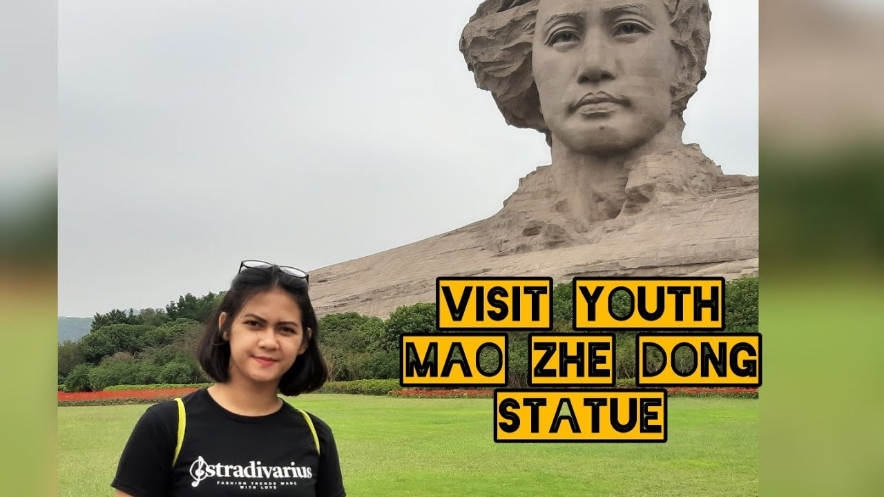 Visit Youth MaoZedong Statue | travel vlog