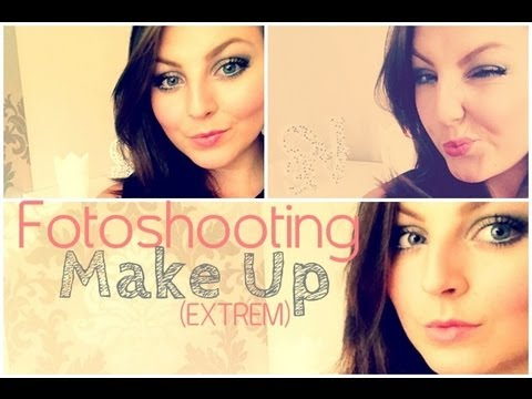 Get ready for a shooting/ Fotoshooting Make Up (EXTREM)
