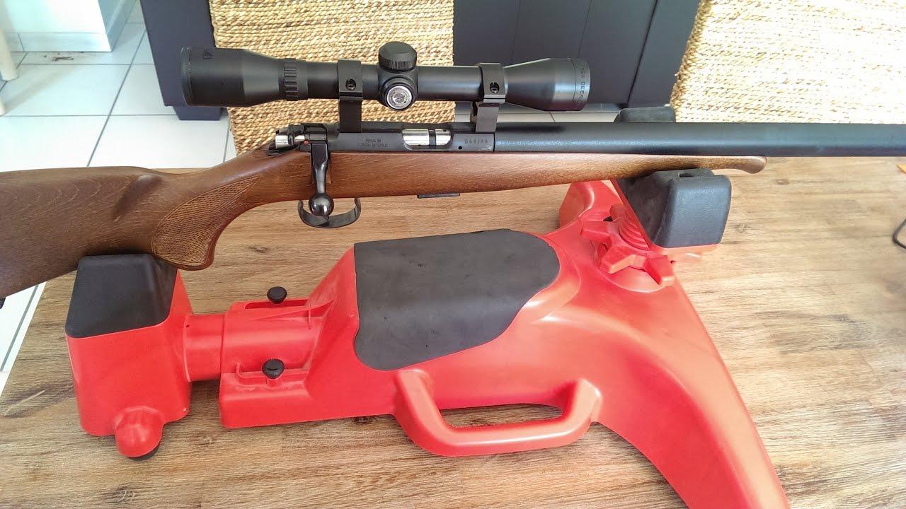 R glages des armes et lunettes de tir youtube - Fabriquer un chevalet pour couper le bois ...
