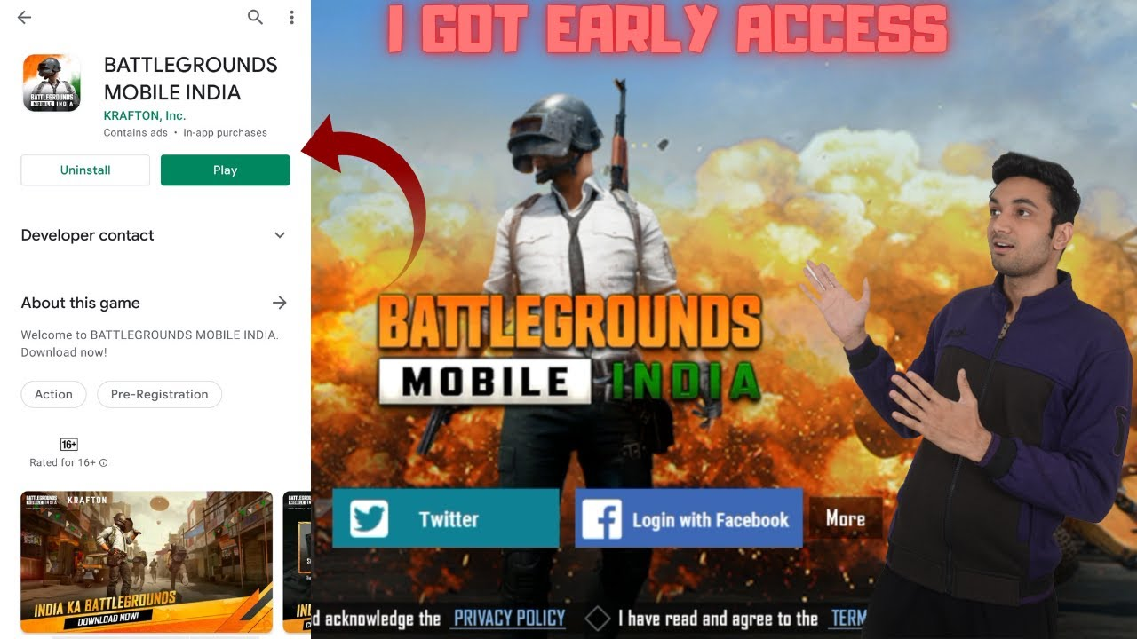 I Got EARLY ACCESS BATTLEGROUNDS MOBILE INDIA First Look