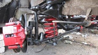 Шприцевание передней шкворневой подвески ГАЗ-3110 Волга