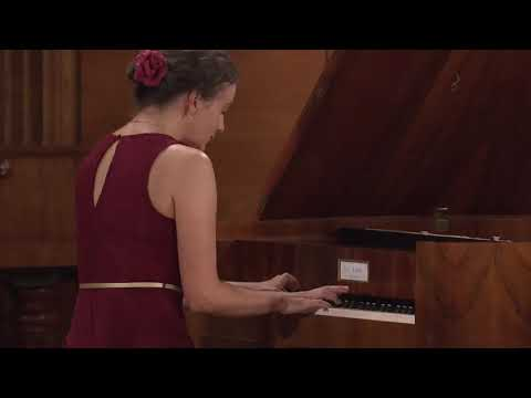 Agnieszka Porzuczek – J.S. Bach, Prelude and Fugue in E major, BWV 854 (First stage)