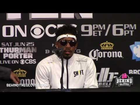 "JARRETT HURD POST FIGHT: ""I CAME HERE A PROSPECT, I FEEL LIKE I'M LEAVING A CONTENDER"""
