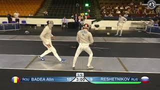 Novi Sad European Championships 2018 Day06 T08 MS ROU vs RUS