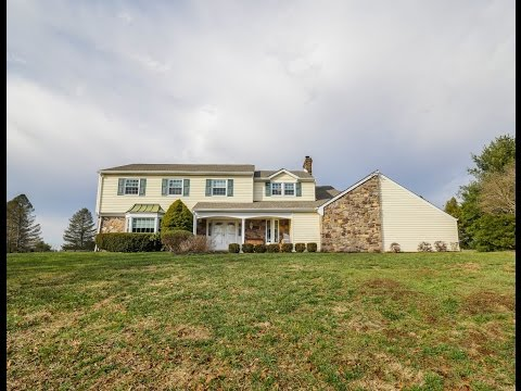 Home For Sale 5 BED Pool & Views 17 Canal Run Washington Crossing PA 18977 Bucks County Real Estate