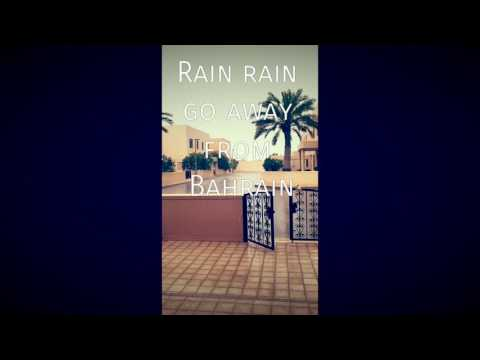 Go way rain from Bahrain