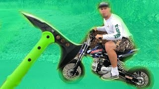 REVENGE on Dirt Bike Thief