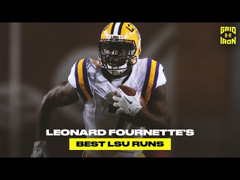 Leonard Fournette Was Unstoppable at LSU | Top 10 College Runs