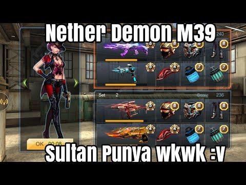Crisis Action - Nether Demon M39 Akun Sultan :v